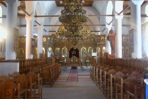 Εσωτερικό τού ναού