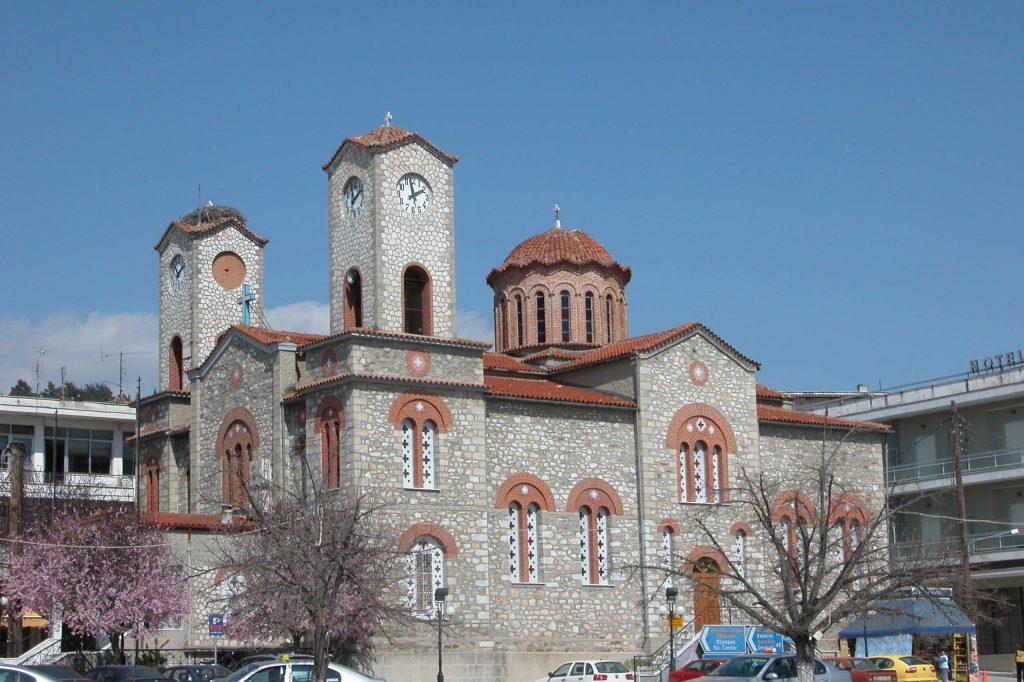 Μητροπολιτικος Ναος Αγίου Δημητρίου Ελασσώνος